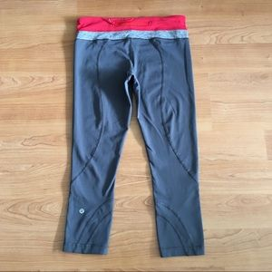 Lululemon run inspire crop leggings 8